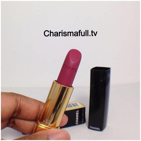 Chanel Lipstick Velvet chanel velvet 47 l amoureuse lipstick reviews photos w swatches charismafull