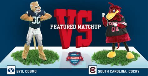 capital one fan vote vote for cocky in capital one mascot challenge other