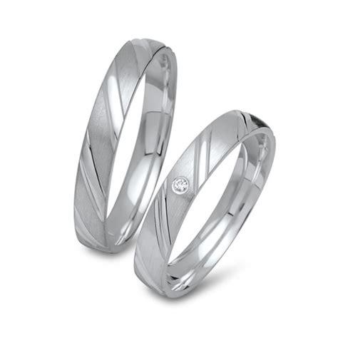 Eheringe 925 Silber by Eheringe Silber Trauringe 925 Gravur Zirkonia R8509s