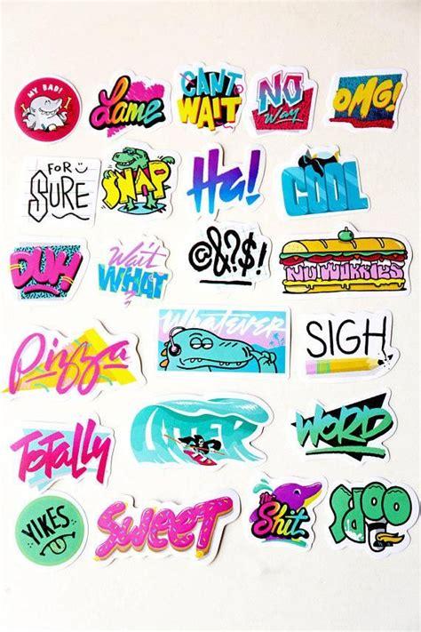 doodle stickers graffiti stickersfilofax stickers