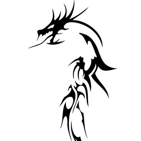 dragon tattoo vector free vector dragon clipart best