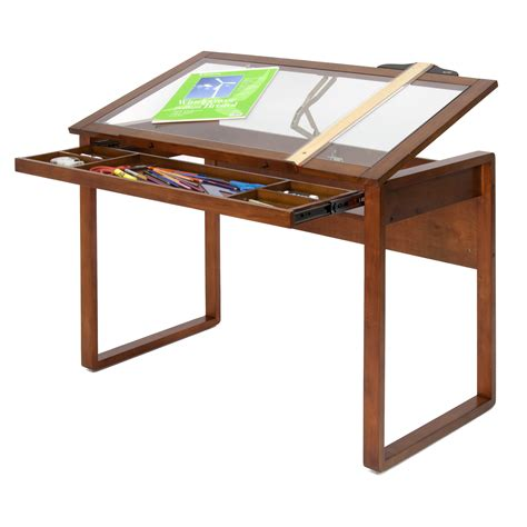 studio designs drafting table studio designs ponderosa 42 quot w x 24 quot d drafting table