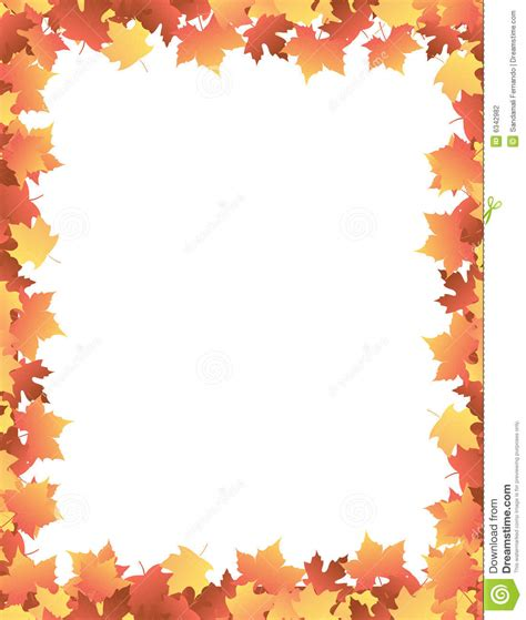 printable fall leaves clip art 9 best images of printable fall border clip art autumn