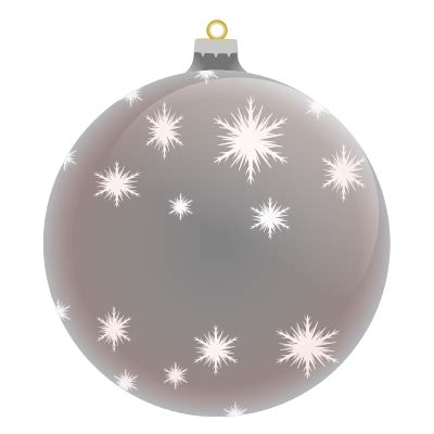 silver christmas clipart clipart suggest