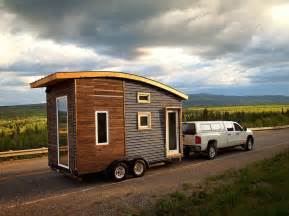 Mobile Tiny Home Plans Green Design Keeps This Tiny Mobile Home Warm In Canada S