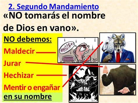 dibujo segundo mandamiento el nombre de dios es santo picture abno
