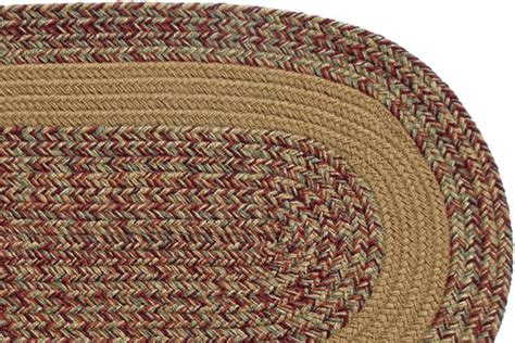 carolina braided rugs carolina harvest camel band braided rug
