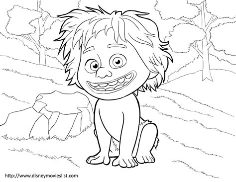 coloring page the good dinosaur good dinosaur coloring pages
