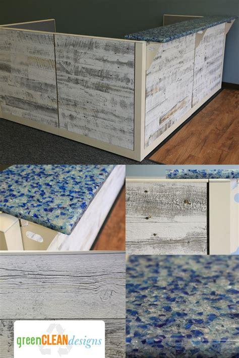 reclaimed wood front desk 17 best images about reception desks front desk sales