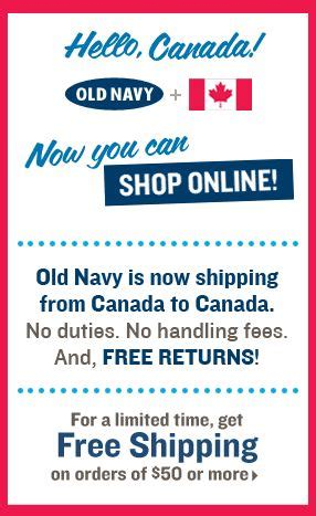 old navy coupons in store canada old navy gap banana republic canada online now open for