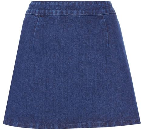 7 awesome denim skirts that will become staples in your