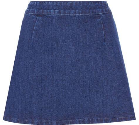 best denim skirt a line photos 2017 blue maize