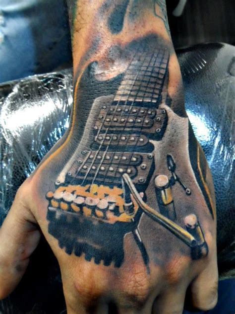 tattoo guitar neck 199 best guitar tattoos images on pinterest guitar