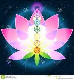 Lotus Chakra Chakras Lotus Stock Vector Image 55613349