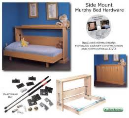 Murphy Bed Kit Horizontal Horizontal Wall Bed Diy Plans Free