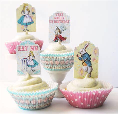 kitchen accessories cupcake design alice in wonderland cupcake kit poppartiesink com