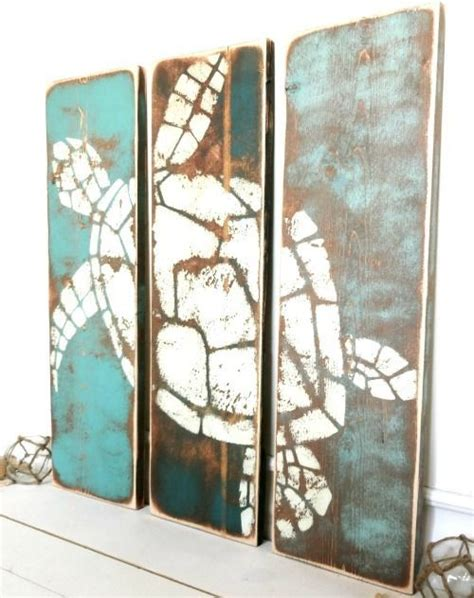 Nautical Ls For Bedroom by Coastal And Paintings On Wood For A Rustic