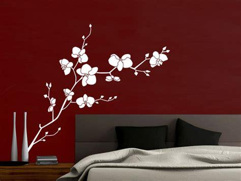 orchidee im schlafzimmer wandtattoo orchidee mit sch 246 nen bl 252 ten wandtattoos de
