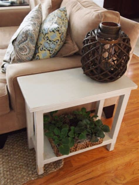Diy Living Room Table 31 Diy End Tables Pallet Crates Wood Storage And Room Decor