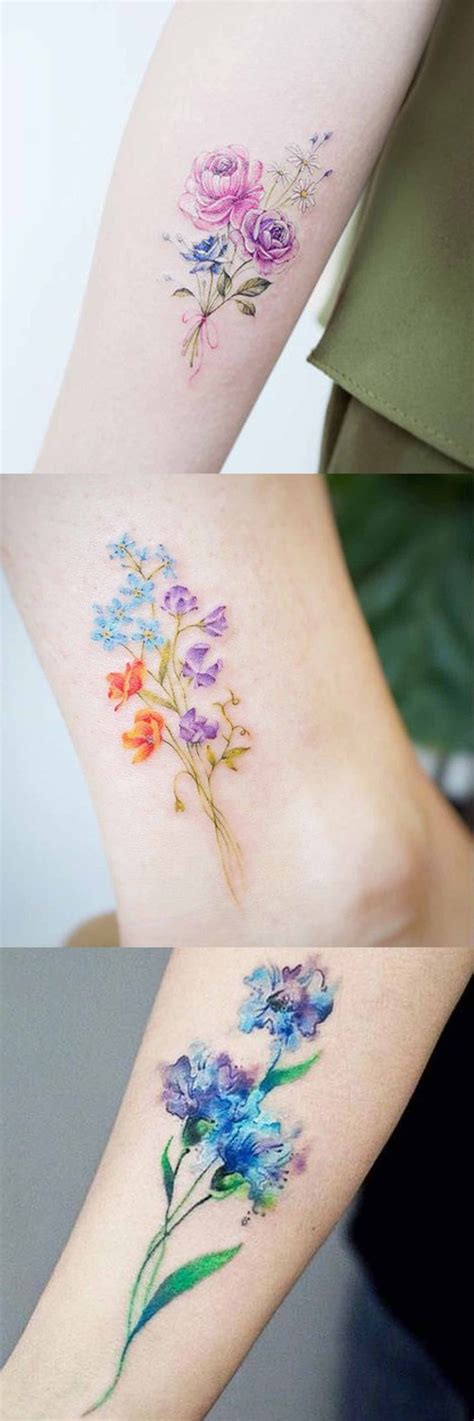 delicate flower tattoo designs 30 delicate flower ideas mybodiart