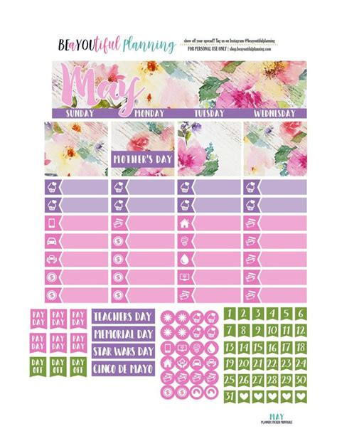 free printable planner kits 17 best ideas about printable planner stickers on