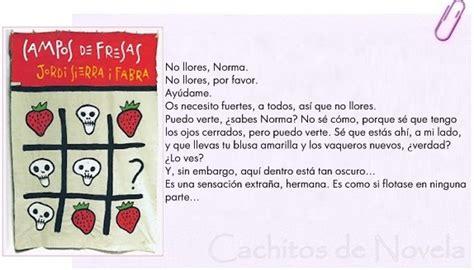 libro cos de fresas anatom 237 a del verbo cos de fresas para 2 186 de eso booktr 225 iler y lectura online de la novela