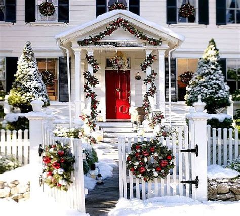 Homes With Christmas Decorations by Outdoor Christmas Decoration Ideas Art Decoration Design