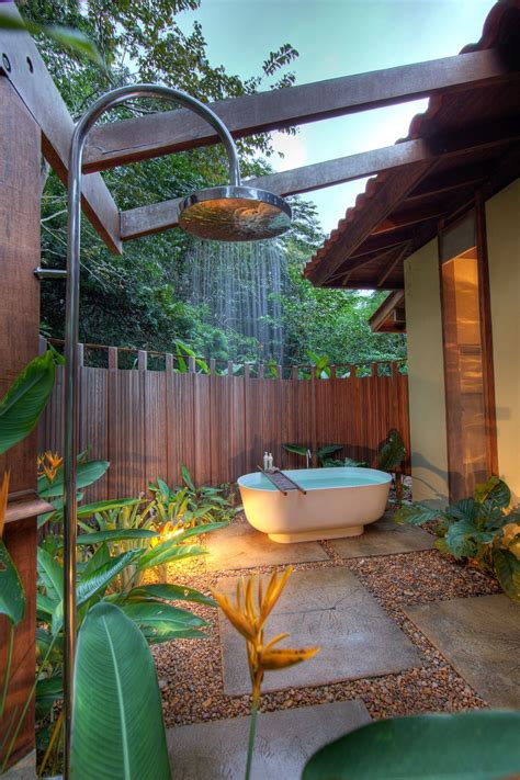 outside bathroom ideas outdoor bathroom in the middle of the jungle bathroom