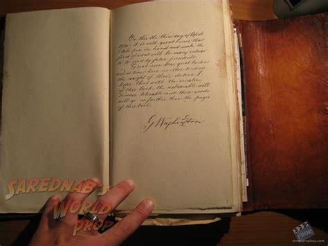 Book Of Secrets book of secrets prop from national treasure 2 book