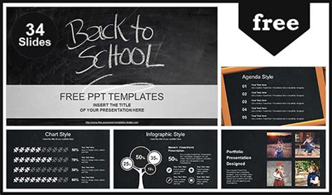 Back To School Powerpoint Template Back To School Powerpoint Template