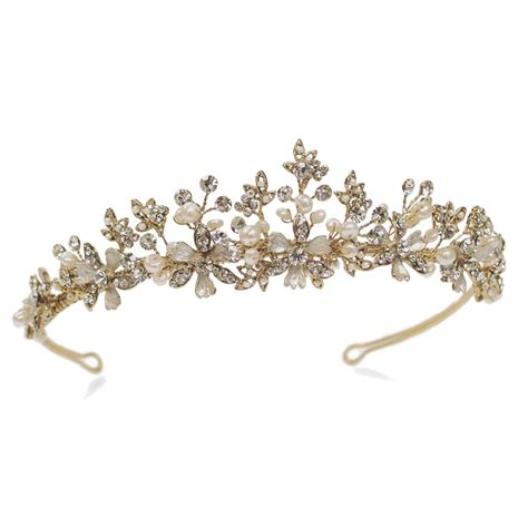 ivory and co seville tiara bridal jewellery