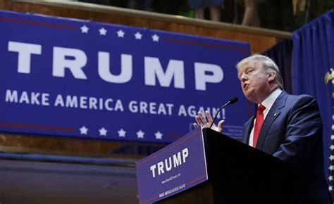 donald trump political biography republican nominee donald trump and his political journey