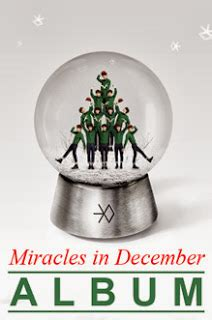 exo winter special album miracles in december korean exo miracles in december lyrics and music video exo