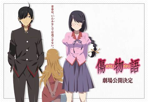 film layar lebar baru film layar lebar kizumonogatari mendapat tanggal rilis baru