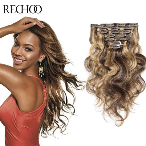 shipping 100 human hair curly remy clip in virgin india human hair virgin remy wavy clip on extensions natural 100 human