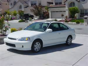 fs civic ex automatic white 2 door coupe