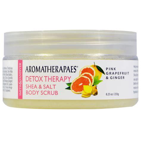 Detox Therapy by Aromatherapaes Detox Therapy Shea Salt Scrub Pink