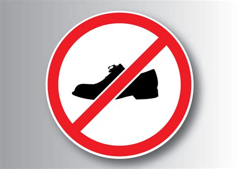 Download Http Superawesomevectors Com No Shoes Sign Http Superawesomevectors