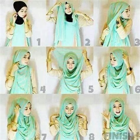 tutorial pashmina muslimah 17 best ideas about pashmina hijab tutorial on pinterest