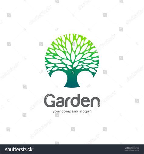 Vector Logo Template Green Tree Circle Stock Vector 591932132 Shutterstock Green Circle Tree Vector Logo Design Stock Vector 235140895