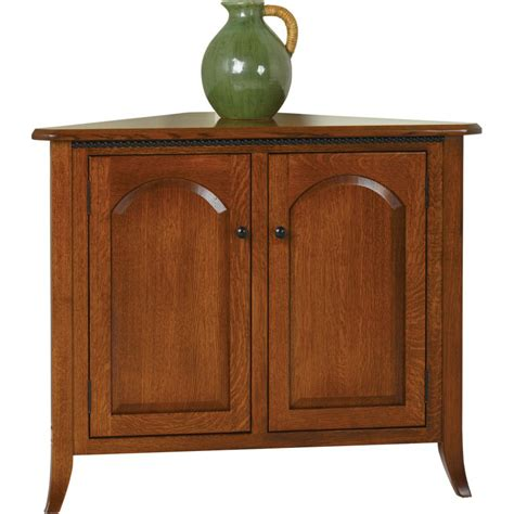 Corner Buffet Table by Bunker Hill Server Corner Buffet Amish Crafted Furniture