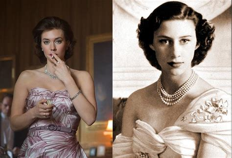 vanessa kirby real height the cast of the crown compared to the real life royals