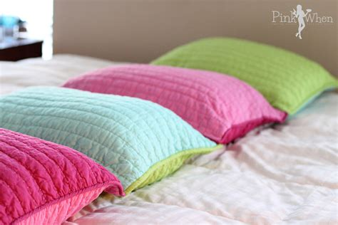 beds and pillows diy pillow bed tutorial pinkwhen