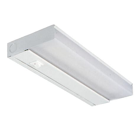 Ge Slim Line 14 In Fluorescent Light Fixture 10168 The Slim Fluorescent Light Fixture
