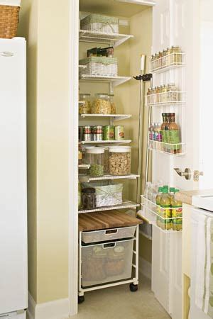 Pantry Ideas For Small Kitchens Kitchen Pantry Ideas