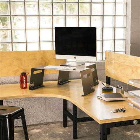 stand up desk riser 25 best ideas about desk riser on laptop