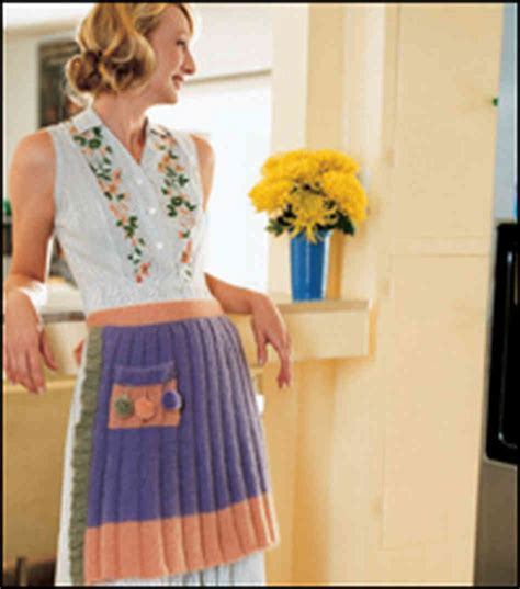 pattern for knitted apron knitted apron patterns a knitting blog