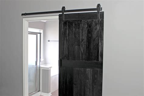 How To Install A Barn Door How To Install A Barn Door Gray House Studio
