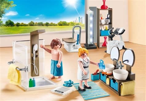 Playmobil Badezimmer by Playmobil Set 9268 Bathroom Klickypedia