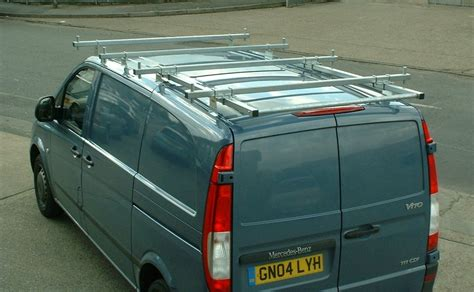 Mercedes Roof Rack by 4 Roof Bars Rack Rail With Roller Fits Mercedes Vito 04 On Ebay